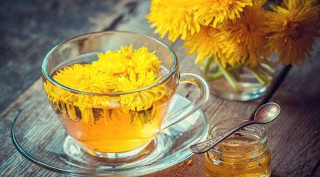 چای گل قاصدک