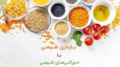 بارداری طبیعی با خوراکیهای طبیعی