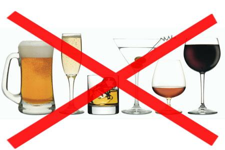 عدم مصرف الکل