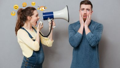 نوسانات روحی در دروران بارداری