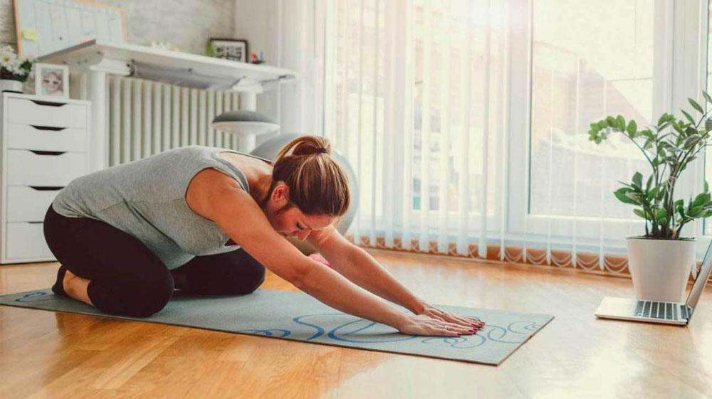 انجام ورزش هایی برای داشتن زایمان طبیعی راحت تر
