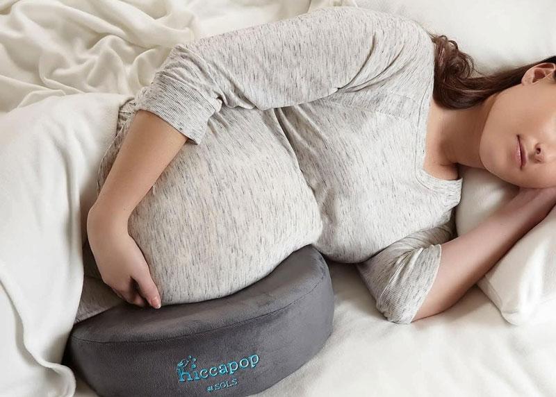 خوابیدن به پهلو در بارداری