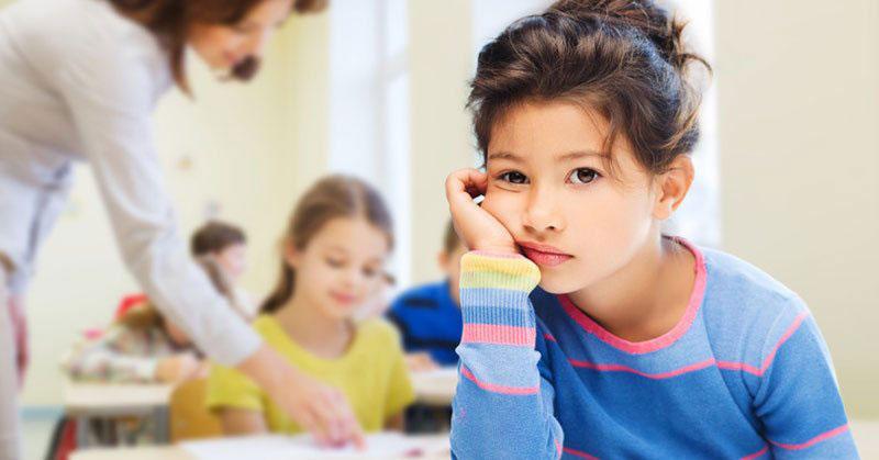 استرس کودکان و گوشه گیری
