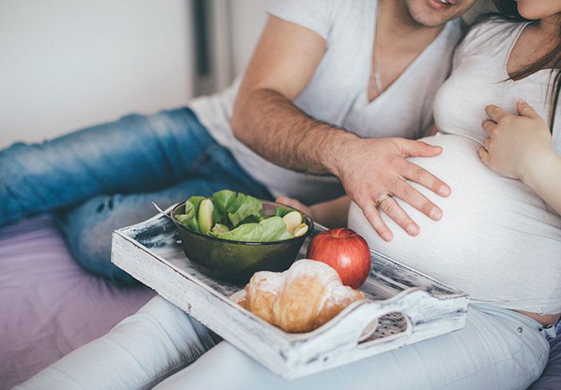 غذای مناسب در بارداری