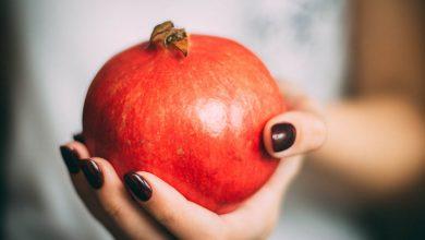 مصرف انار برای زیبایی جنین